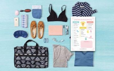 Списък за родилното – багаж за болницата